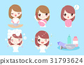 woman with hair coloring 31793624
