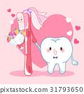 brush cartoon marry 31793650