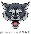 Wolf Sports Mascot 31794451
