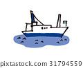 船 划船 海 31794559