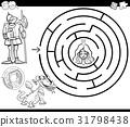maze, princess, dragon 31798438