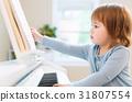 piano, toddler, girl 31807554