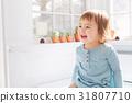 toddler, girl, house 31807710