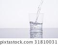 水 飲用水 傾倒的 31810031