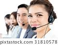 Asian call center team 31810578