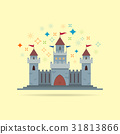 Castle vector icon 31813866