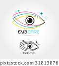 Vector illustration of abstract human eye 31813876