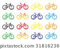 自行車 腳踏車 矢量 31816236