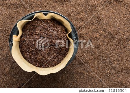 咖啡渣回收再生普通咖啡 31816504