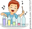 Kid Boy Play Music Bottle 31817237