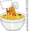 Mascot Fish Blank Board Soup 31817292
