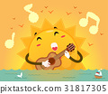 Mascot Sunset Guitar Song 31817305