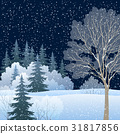 Winter Christmas Landscape 31817856