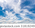 Beautiful blue sky background 31819249
