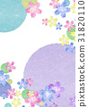 Japanese style Japanese paper 【Japanese style background · series】 31820110