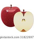 蘋果 水果 橫斷面 31822697