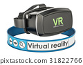 Virtual reality VR concept, 3D rendering 31822766