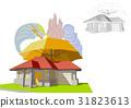 home, insurance, vector 31823613