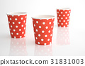 Empty paper cup 31831003