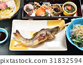 Grill Ayu fish japanese food. Japanese style.     31832594