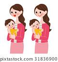 育兒 媽媽 嬰兒 31836900