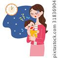 育兒 媽媽 嬰兒 31836904