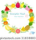 水果 热带 框架 31838883