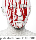 Scary bloody face  31838901