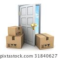 盒子 箱子 门 31840627