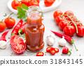Tomato ketchup, chilli sauce, tomatos puree 31843145