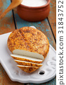 Lithuanian fried cheese 31843752