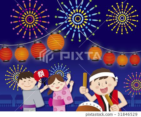 여름 축제 31846529