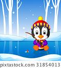 penguin fishing 31854013