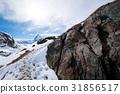 Scenic view on snowy Matterhorn peak 31856517