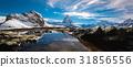 Reflection of Matterhorn 31856556