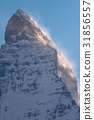 Matterhorn peak, Switzerland 31856557