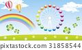 outing, ferris wheel, amusement 31858544