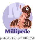 ABC Cartoon Millipede 31860758