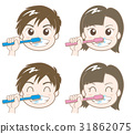牙膏 牙粉 男生 31862075