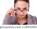 angry female boss looking at you 31864066