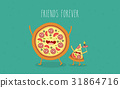 food, vector, illustration 31864716