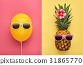 pineapple, fashion, summer 31865770