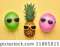 pineapple, fashion, summer 31865815