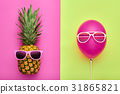 pineapple, fashion, summer 31865821