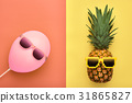 pineapple, fashion, summer 31865827