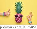 pineapple, fashion, OK 31865851