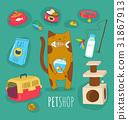 pet, vector, animal 31867913