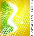wave, shiny, background 31871003