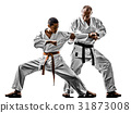karate men teenager student teacher teaching 31873008