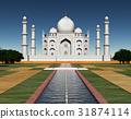 Taj Mahal in India 31874114